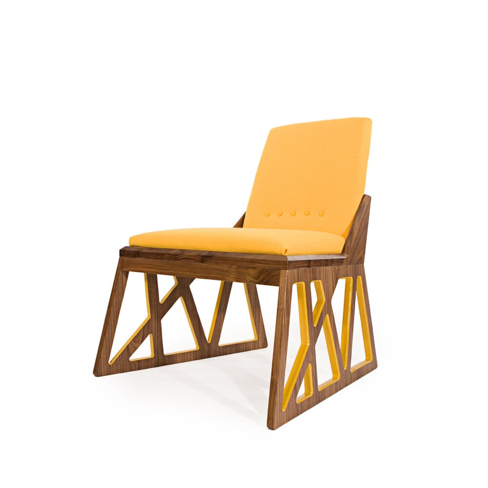 The Showstopping Truss Lounge Chair ($2,800) From Meg Ou0027Halloran Design Was  Inspired Home Design Ideas