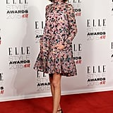Keeping it pretty, Alexa wore Erdem to the Elle Style Awards in 2015.