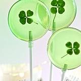 Four Leaf Clover Lollipops