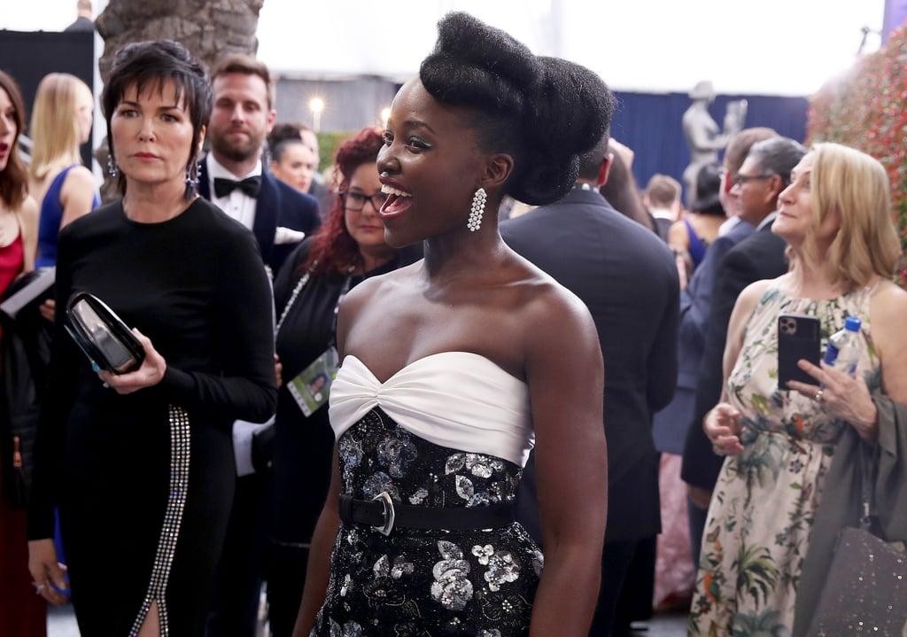 Lupita Nyong'o's Louis Vuitton Gown at SAG Awards 2020
