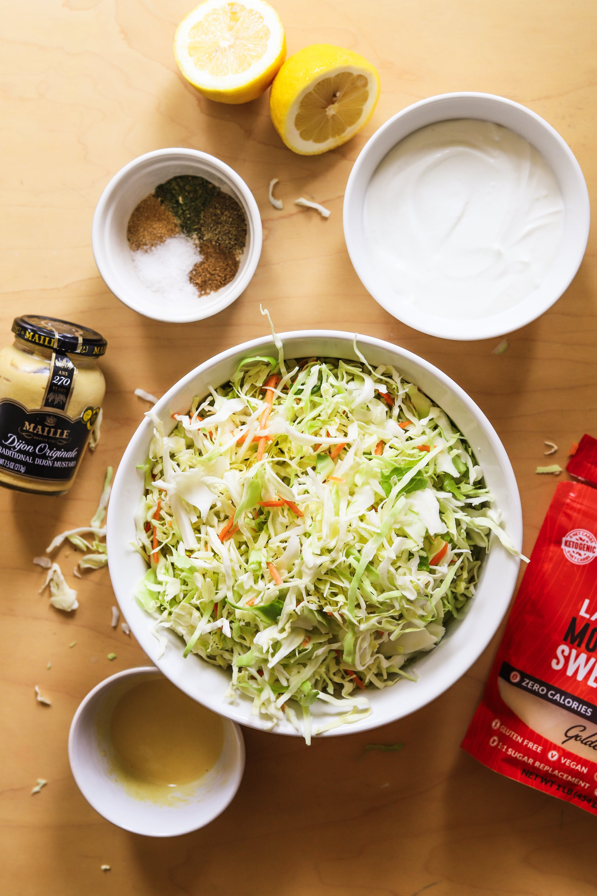 Coleslaw Is a Barbecue Staple, and This Protein-Rich Version Cuts Back on Added Sugars