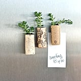 Upcycle something you're about to throw away into something new and beautiful.