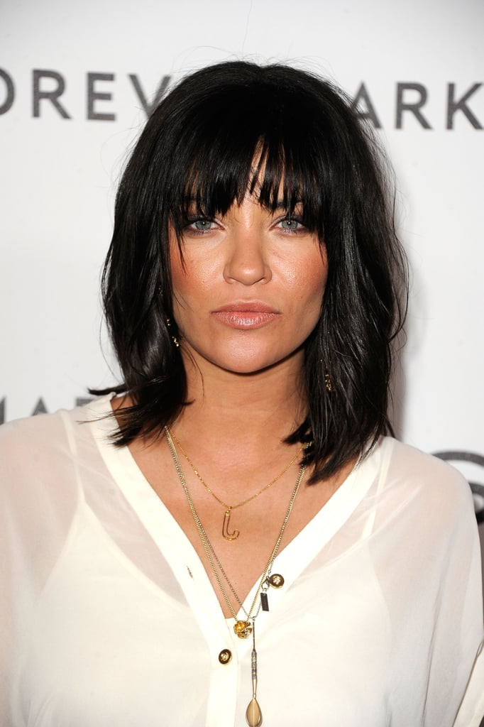 Jessica Szohr had a rock 'n' roll moment at the Beverly Hills Hotel.
