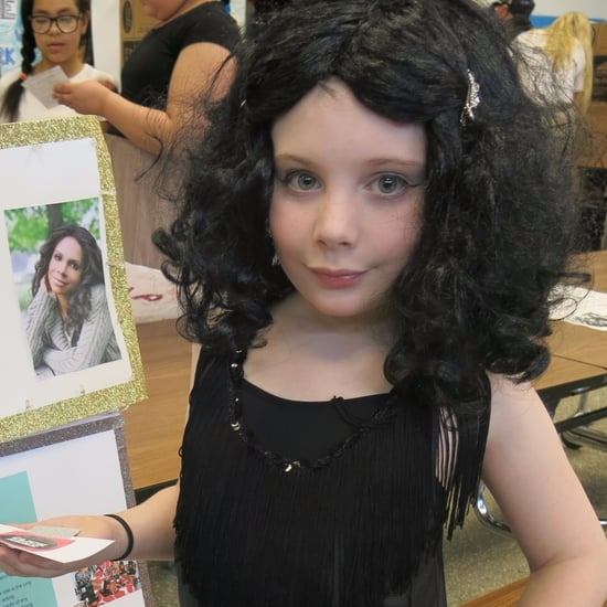 Boy Dresses as Audra McDonald For Black History Month