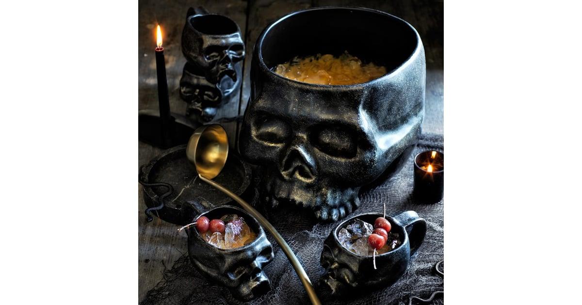 Halloween Punch Bowl Set