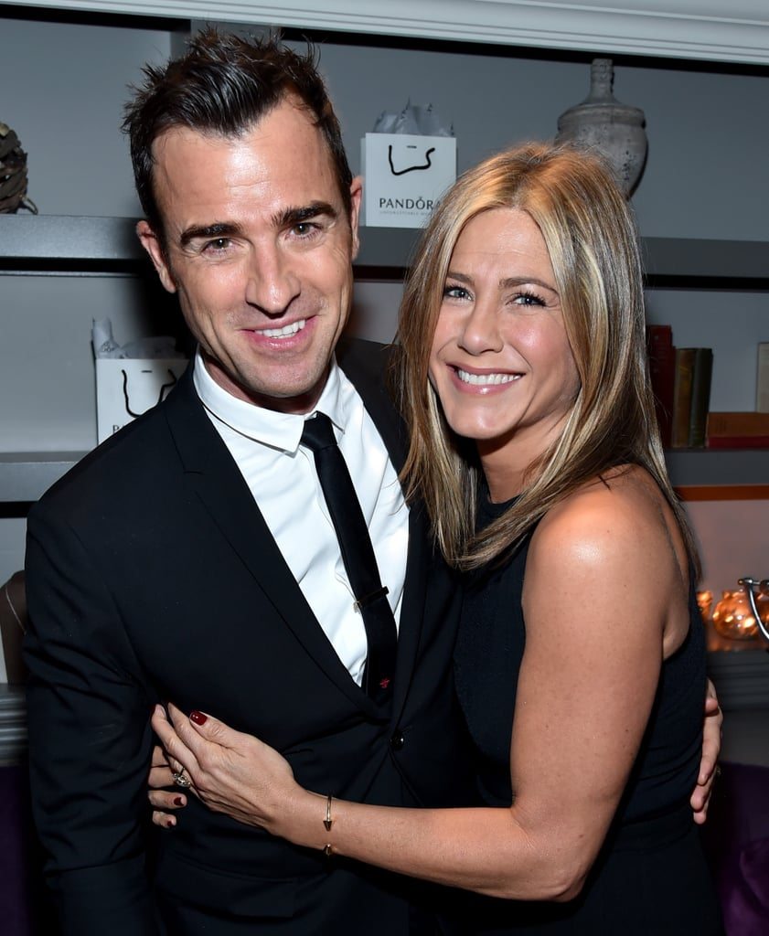 Jennifer Aniston and Justin Theroux got engaged in August 2012, and they tied the knot in 2015b in a top-secret wedding! The cute couple first met on the set of Wanderlust back in 2010, and since then, they've shared tons of sweet moments, from red carpet cuteness to steamy beach PDA. To celebrate the happy couple, look back at Jennifer and Justin's most adorable moments together!