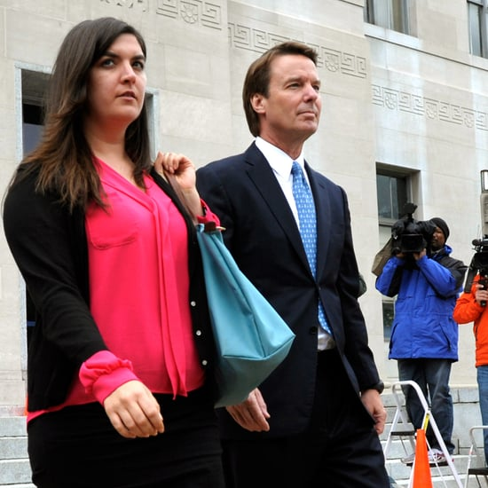 John Edwards's Daughter Cate Leaves Courtroom