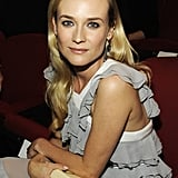 Diane Kruger smiled in NYC.