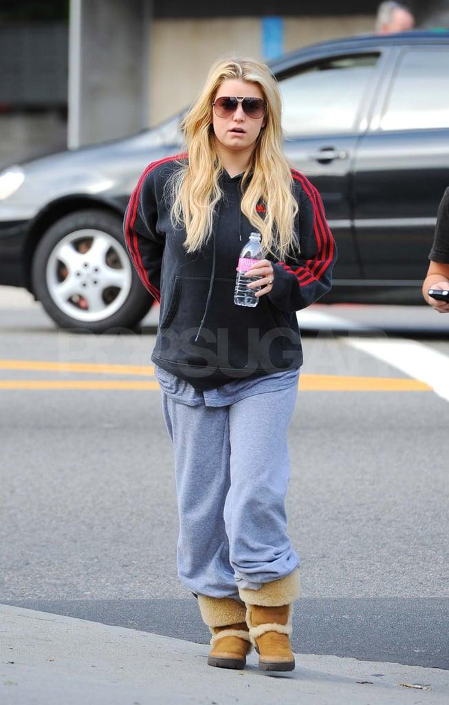 Jessica Simpson Goes Casual Amid Talks of Becoming an X-Factor Judge