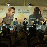 The Star Trek Into the Darkness cast spoke at a press conference in Berlin on Monday.