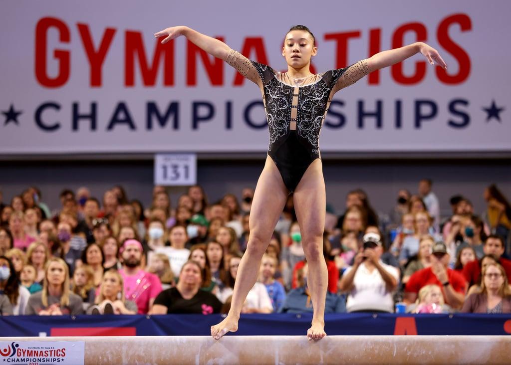 US Women's Olympic Gymnastics Team Alternate: Leanne Wong