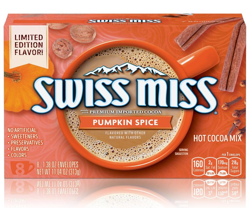 Shop Swiss Miss's New Pumpkin Spice Hot Chocolate