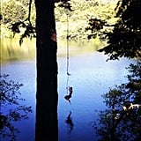 Rope Swing Into a Lake