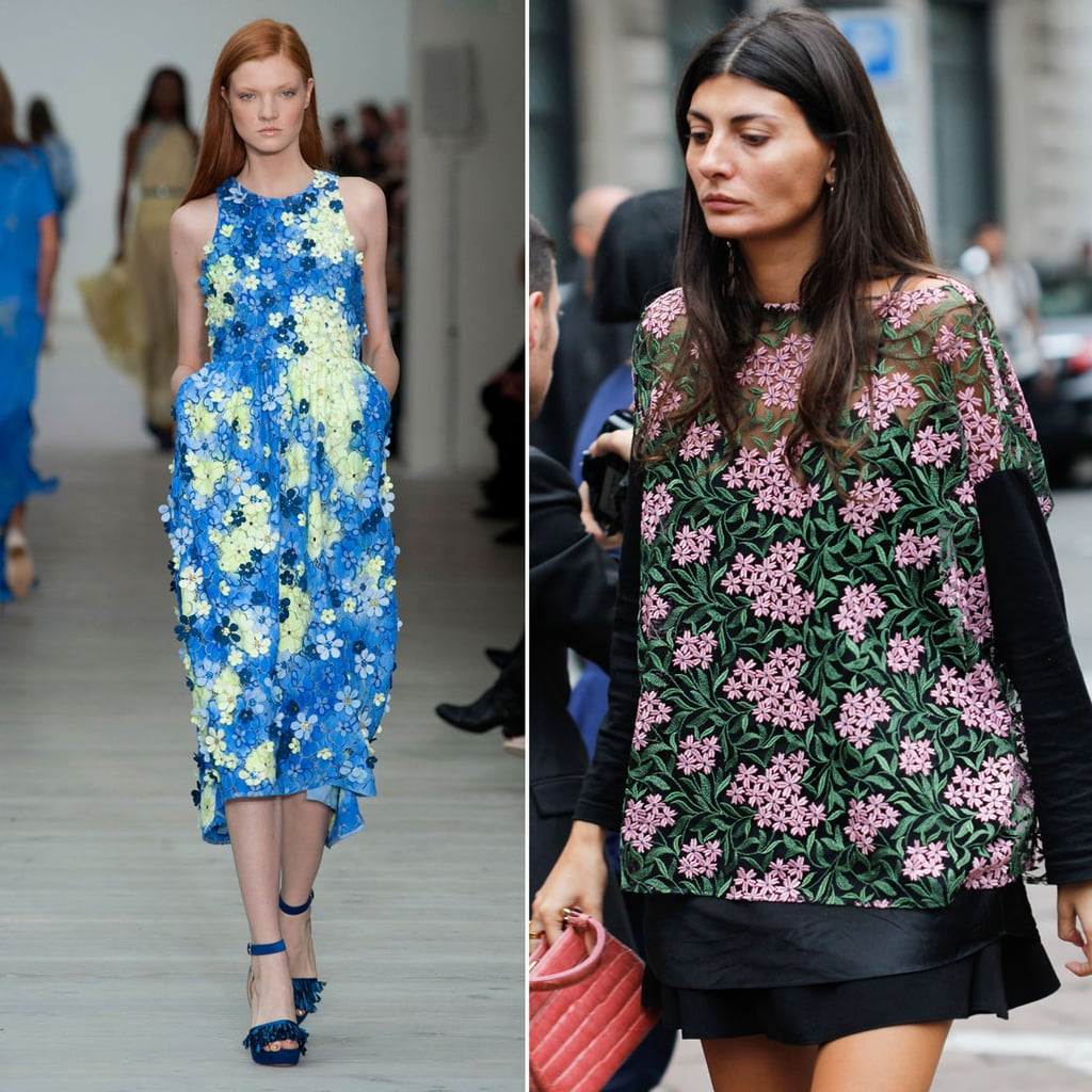 Floral Clothing For Spring