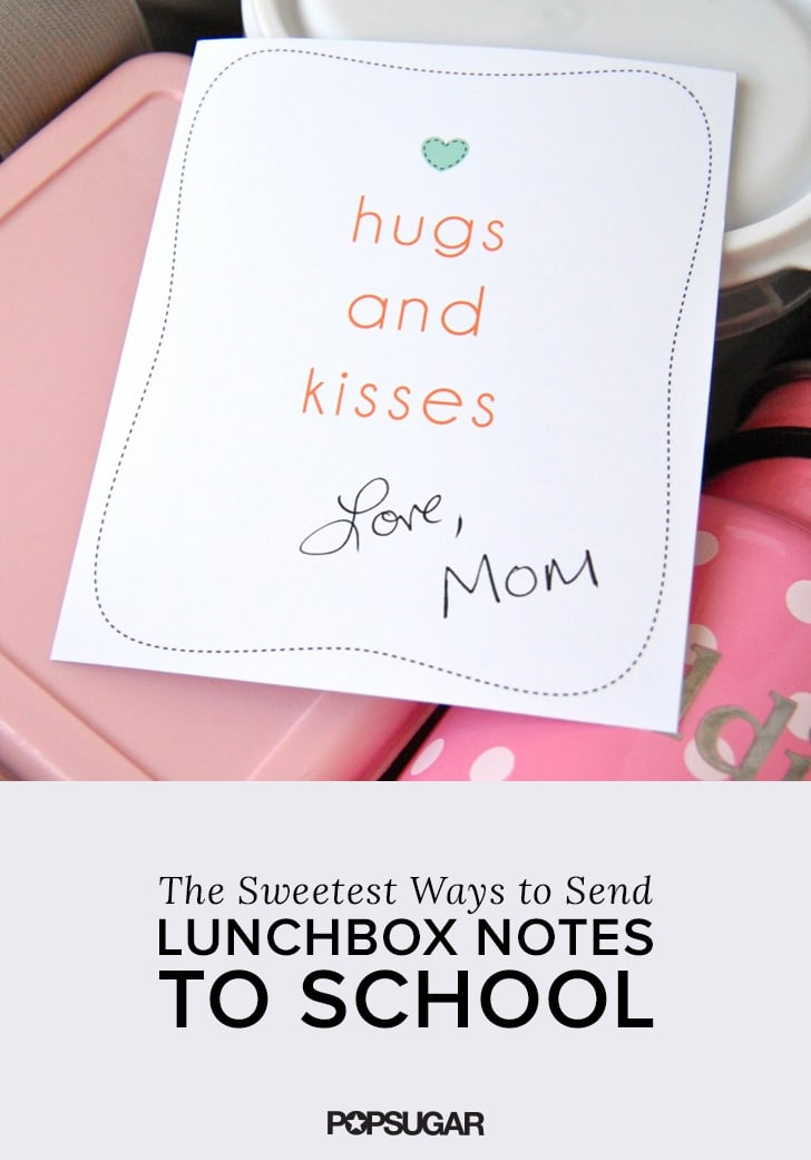 Sweeten Lil Ones' Lunch Boxes With a Love Note From Mom