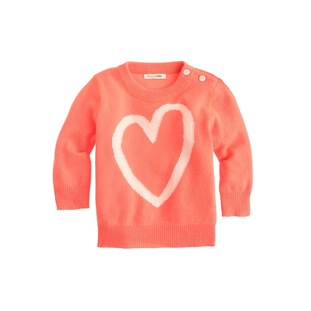 Cashmere Heart Sweater