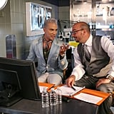 CSI creator and guest judge Anthony Zuiker joined Jay Manuel to discuss the girls' acting skills during the audition challenge.  Photo courtesy of The CW