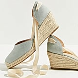 UO Espadrille Lace-Up Wedge Sandal