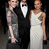 Nicole, Kim, Chace, and Other Celebs Toast the Oscars With Elton John