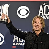 Pictured: Keith Urban