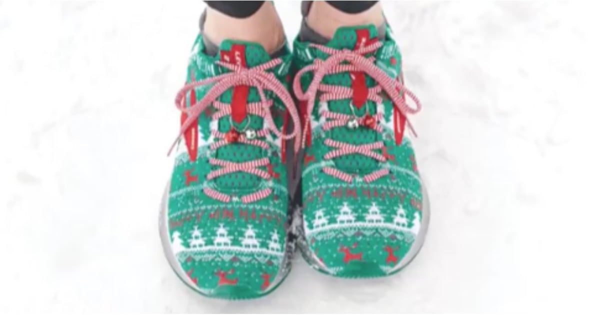 Brooks Ugly Sweater Sneakers | POPSUGAR