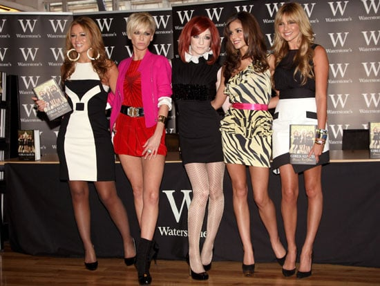 Photos Of Girls Aloud's Cheryl Cole, Kimberley Walsh, Nadine Coyle, Nicola Roberts, Sarah Harding at Autobiography Book Signing