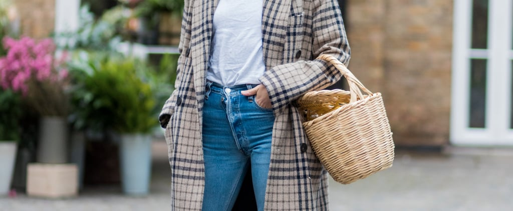 11 Ingenious Ways to Style Your Wicker Bag This Autumn
