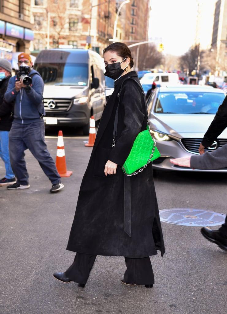 Celebrities Carrying Louis Vuitton's Coussin Bag