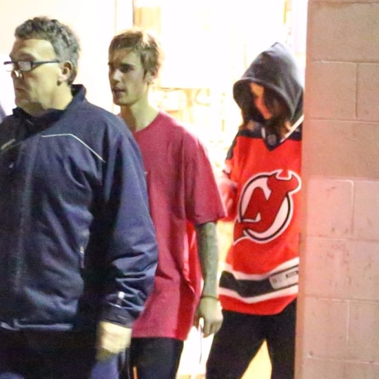 Selena Gomez and Justin Bieber at Hockey Game November 2017