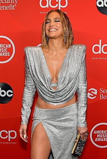 Jennifer Lopez's Balmain Look at the American Music Awards