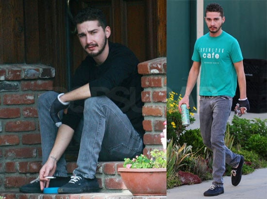 Shia LaBeouf Keeps His Cool