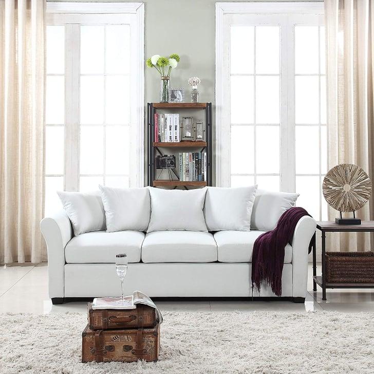 Best Cheap Sofas: Divano Roma Furniture Fabric Sofa