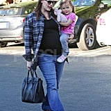 Jennifer Garner and Seraphina Affleck had a mommy-daughter day.