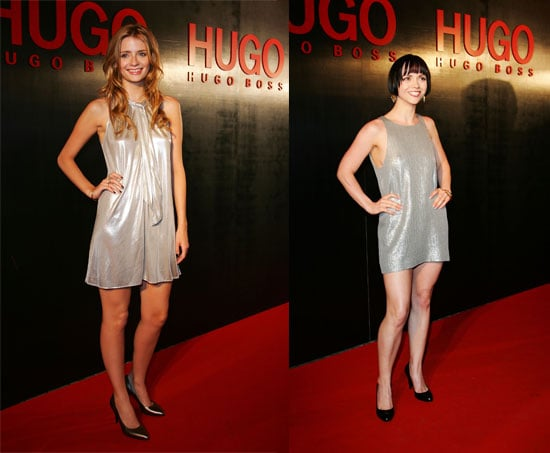 Mischa & Christina Are Hugo Boss Twinsies!