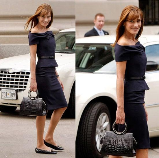 Celebrity Style: Carla Bruni-Sarkozy