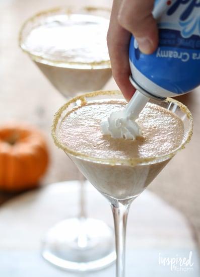 Frozen Pumpkin Pie Martini