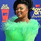Lizzo at the MTV Movie & TV Awards