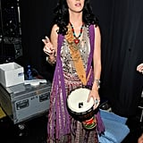 Katy Perry's hippie threads.