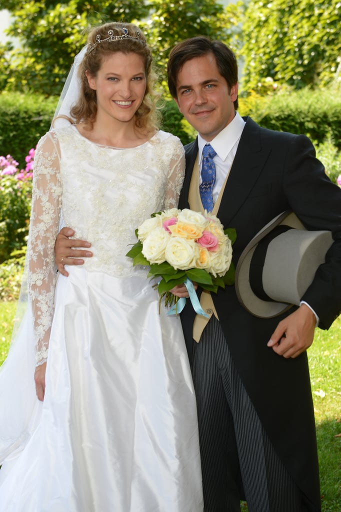 Prince Francois d'Orleans and Theresa von Einsiedel