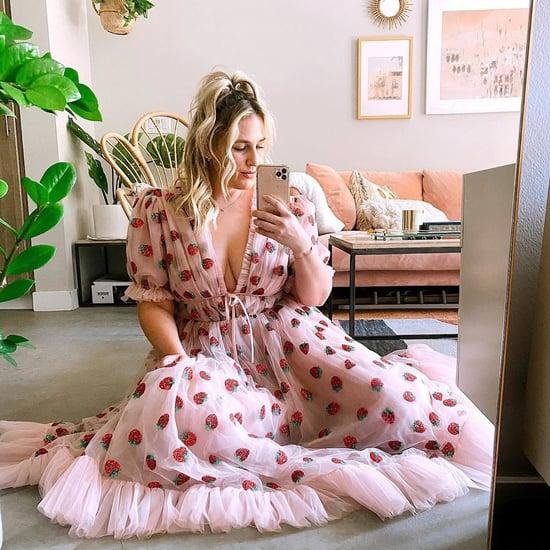 How to Style Lirika Matoshi's Strawberry Dress From TikTok