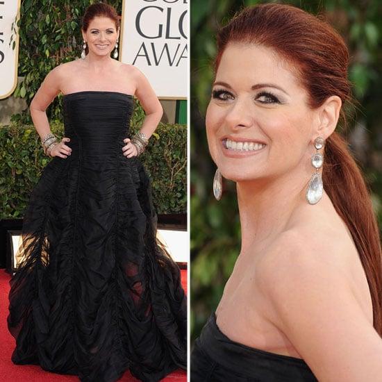 Debra Messing   Golden Globes Red Carpet Fashion 2013