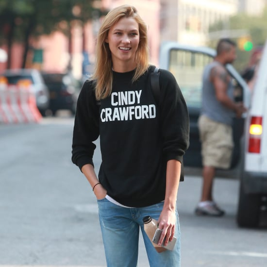 Karlie Kloss Cindy Crawford Sweatshirt From Reformation