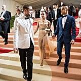 Pictured: Robert Pattinson, Fka Twigs, and Rami Malek