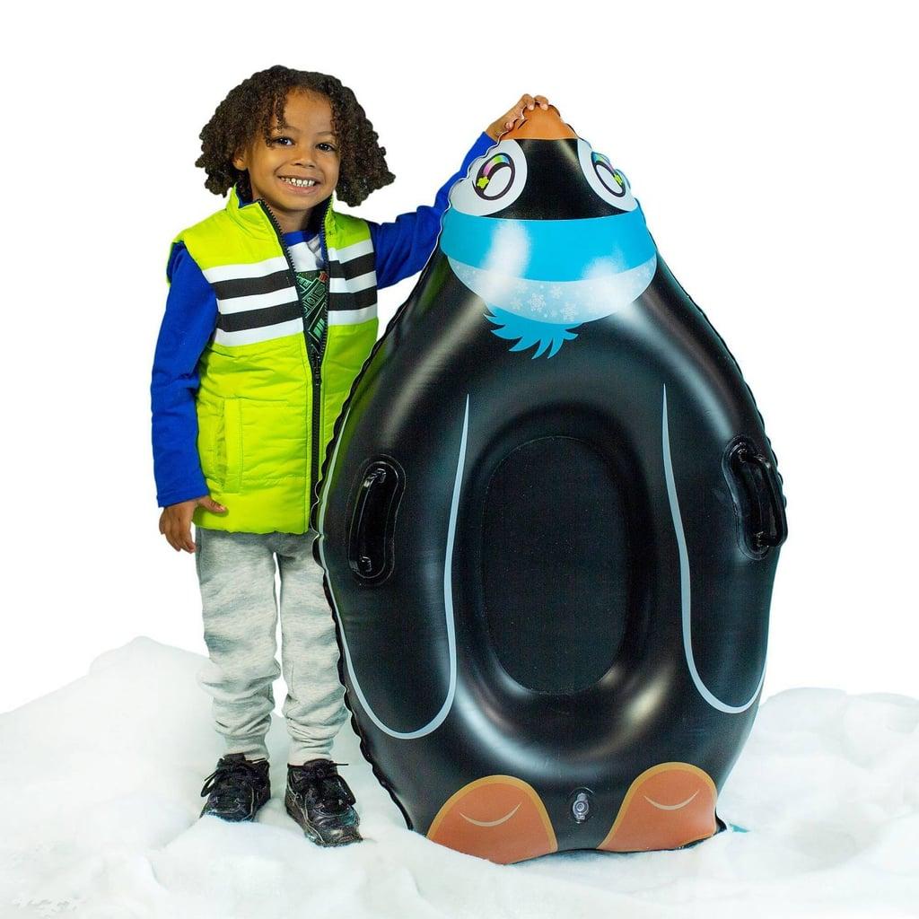 SnowCandy Penguin Snow Sled