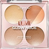 L'Oréal Paris True Match Lumi Glow Nude Highlighter Palette in Sunkissed