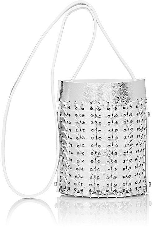 Paco Rabanne Chain Mail Seau Mini Bucket Bag