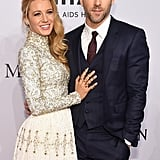 Blake Lively Touching Ryan Reynolds's Chest Photos