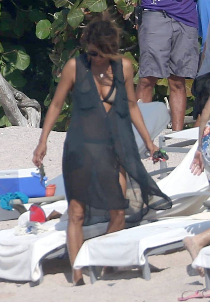 Halle Berry and Olivier Martinez on Vacation in Mexico 2016