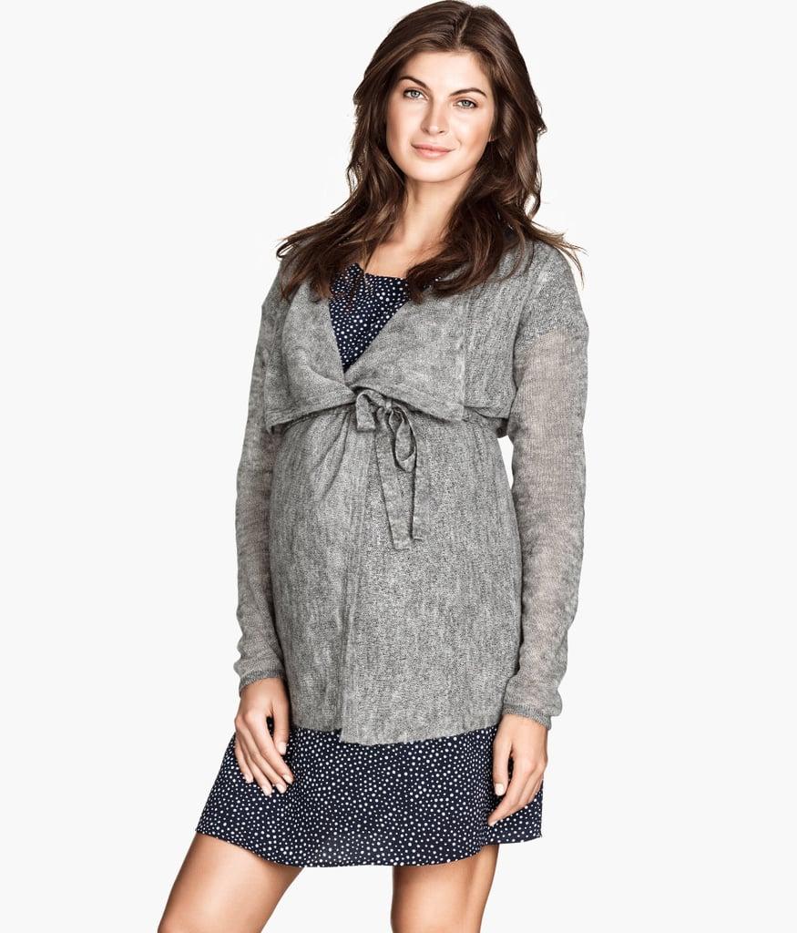 H&M Mama Wool Blend Cardigan