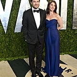 Jason Bateman and his wife, Amanda Anka, arrived at the Vanity Fair Oscar party on Sunday night.